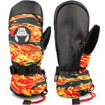 Crab Grab Mens Cinch Mitt-Flame Thrower-M