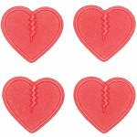 Crab Grab Mini Hearts Stomp Pad-Red-OS