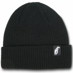 Crab Grab Claw Label Beanie-Black-OS