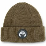 Crab Grab Circle Patch Beanie-Brown-OS