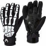 Crab Grab Mens The Five Gloves-Bones-XL