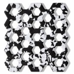 Crab Grab  Crab Trap Stomp Pad-Black White Swirl-OS
