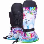 Celtek Gore-Tex® Vera Snowboard Mitten Womens-Lisa Frank Polar Bear-L