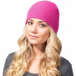 Celtek Patches Beanie Womens-Pink-OS
