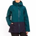 Dakine Womens Beretta GTX 3L Jacket-Deep Teal-L