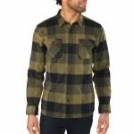 Dakine Underwood Long Sleeve Woven Flannel-Tarmac-M