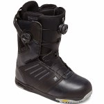 DC Mens Judge Boa Snowboard Boot-Black-11.5