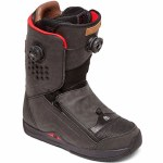 DC Mens Travis Rice Boa Snowboard Boot-Black-7.5