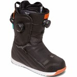 DC Womens Mora Boa Snowboard Boot-Black/Blue-8.5