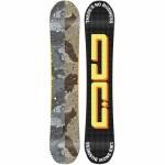 DC Mens PLY Snowboard-Multi-154W