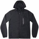 DC Mens Dagup Ripstop Packable Jacket-Black-M
