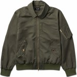 Diamond Embarcadero Bomber Jacket-Military Green-M