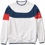 Diamond Fordham Crewneck-White-M