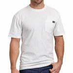 Dickies Mens Heavy Weight Short Sleeve T-Shirt-White-XXL