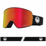 Dragon Mens NFX2 Goggle-Split/LUMALENS Red Ion-OS
