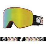 Dragon Mens NFX2 Goggle-FORESTSIG20/LUMALENS Gold Ion-OS