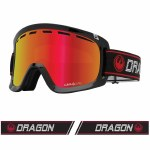 Dragon Mens D1 OTG Goggle-INFRARED/LUMALENS Red Ion-OS