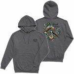 Dark Seas Mens Sparrows Stock PO Hoodie-Gunmetal/Heather-S