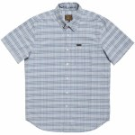 Dark Seas Counterflood Short Sleeve Woven-Blue-M