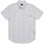 Dark Seas Cocobana Short Sleeve Woven Shirt-White-M