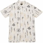 Dark Seas Ace Short Sleeve Woven-Antique-S