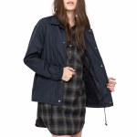 Eden Melody Light Weight Coaches Jacket Womens-Eclipse Navy-S
