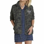 Eden Melody Starr Coaches Jacket Womens-Stress Camo-M