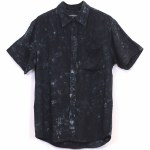 Ekumenik Party Shirt Short Sleeve Woven-Dark Twist-L