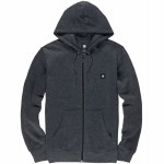 Element Mens 92 Zip Hoodie-Charcoal Heather-S