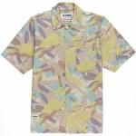 Element Mens Cabourn Summer SS Shirt Short Sleeve Button-Up-Abstract Camo-S