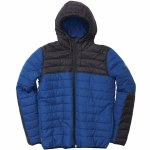 Element Alder Puff TW(Travel Well)Jacket-Boise Blue-M