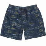 Element Arrowrock Walkshort-River Rats Blue-M