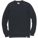 Element Crew Sweater-Flint Black Heather-XL