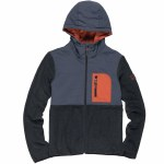 Element Trent Zip Up Hoody-Black Heather-L
