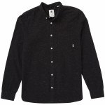 Element Greene Neps Long Sleeve Woven-Black-M