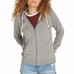 Element Lette Zip Hoody-Grey Heather-S