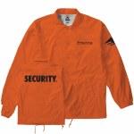 Emerica Mens Undercover Jacket-Orange-XL