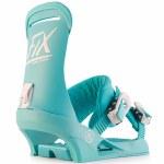 Fix Binding Co Womens Havana Snowboard Binding-Teal-S