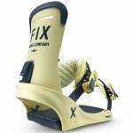 Fix Binding Co Mens Truce Snowboard Binding-Cream-M