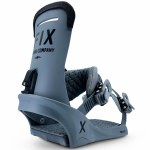 Fix Binding Co Mens Truce Snowboard Binding-Charcoal-M