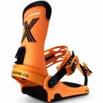 Fix Binding Co Mens Magnum Snowboard Binding-Orange-L