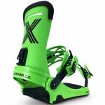 Fix Binding Co Mens Magnum Snowboard Binding-Lime-M