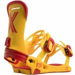 Fix Magnum Snowboard Binding-Yellow-M