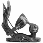 Flow Mens Fuse Snowboard Binding-Black-XL