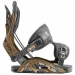 Flow Mens Fuse Snowboard Binding-Brown-L