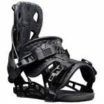 Flow Mens Nx2 Fusion Snowboard Binding-Black-M