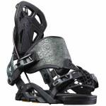 Flow Mens Fuse-Gt Hybrid Snowboard Binding-Black-M
