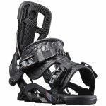 Flow Mens Fuse Fusion Snowboard Binding-Black-XL