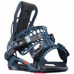Flow Mens Fenix Fusion Snowboard Binding-Petrol/Red-M
