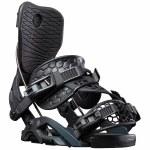 Flow Womens Omni Hybrid Snowboard Binding-Black-M